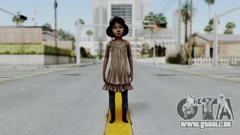 Clementine from The Walking Dead pour GTA San Andreas deuxième écran