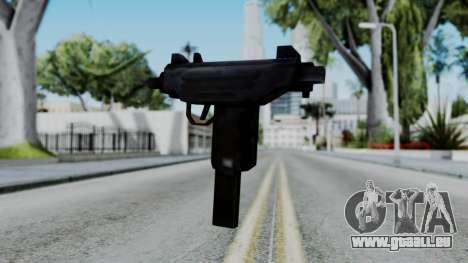 GTA 3 Uzi pour GTA San Andreas deuxième écran