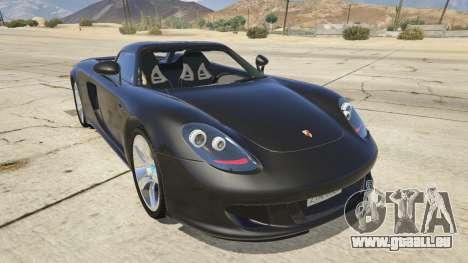 Porsche Carrera GT für GTA 5