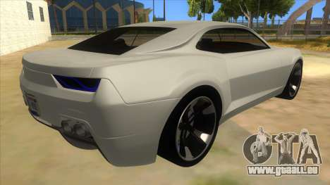 Chevrolet Camaro DOSH tuning MQ pour GTA San Andreas vue de droite