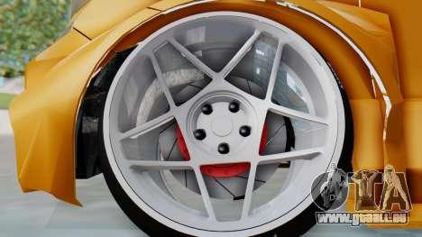 Toyota Vellfire S Class für GTA San Andreas Rückansicht