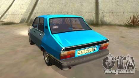 Dacia 1310 Rusty pour GTA San Andreas sur la vue arrière gauche