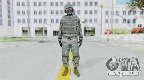 Acu Soldier Balaclava v3 pour GTA San Andreas deuxième écran