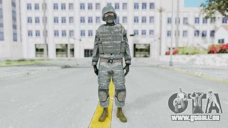 Acu Soldier Balaclava v3 für GTA San Andreas zweiten Screenshot
