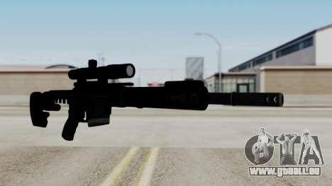 McMillan CS5 No Bipod für GTA San Andreas