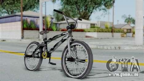 GTA 5 BMX Camo pour GTA San Andreas laissé vue
