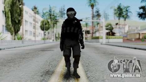 Serbian Zandarmerija v2 für GTA San Andreas zweiten Screenshot