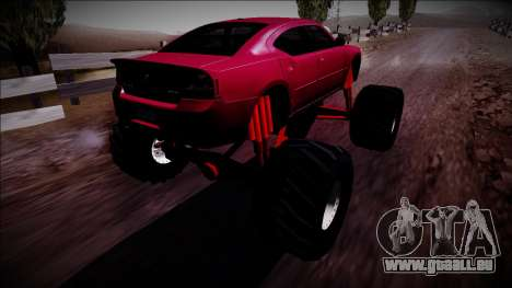 2006 Dodge Charger SRT8 Monster Truck für GTA San Andreas linke Ansicht