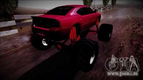 2006 Dodge Charger SRT8 Monster Truck für GTA San Andreas linke Ansicht