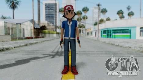 Pokémon XY Series - Ash für GTA San Andreas zweiten Screenshot
