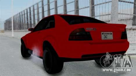 GTA 5 Karin Sultan RS Stock PJ für GTA San Andreas linke Ansicht