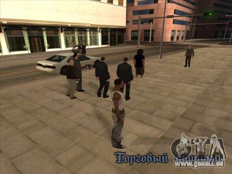 Russen in der Einkaufsstraße für GTA San Andreas zweiten Screenshot