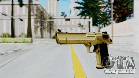 Pouxs Desert Eagle v2 Gold für GTA San Andreas zweiten Screenshot