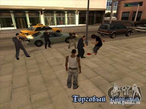 Russen in der Einkaufsstraße für GTA San Andreas
