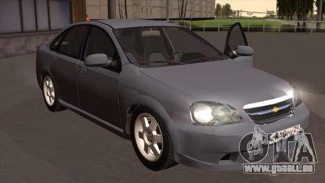Chevrolet Lacetti Sedan pour GTA San Andreas