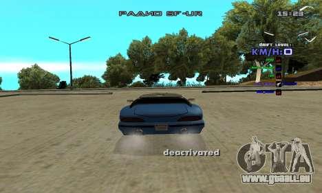 Drift Camera pour GTA San Andreas deuxième écran