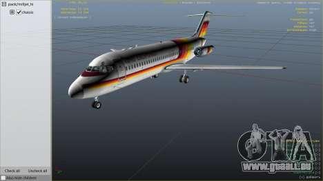 GTA 5 McDonnell Douglas DC-9-15 sixième capture d'écran