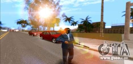 L'armée de l'heure pour GTA San Andreas deuxième écran