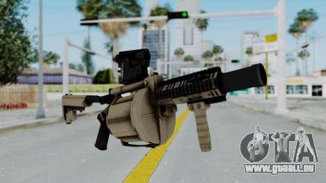 Arma OA Grenade Launcher für GTA San Andreas