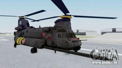 MH-47 Umbrella U.S.S pour GTA San Andreas