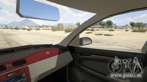 GTA 5 Chevrolet Impala hinten rechts