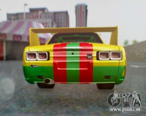 Nissan 2000GT-R [C10] Tunable pour GTA San Andreas vue de droite