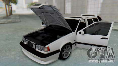 Volvo 850R 1997 Tunable für GTA San Andreas Innenansicht
