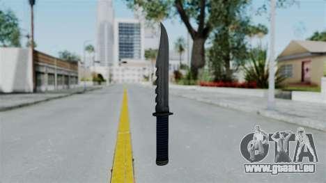 GTA 5 Knife pour GTA San Andreas deuxième écran