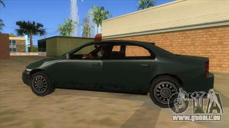 GTA LCS KURUMA für GTA San Andreas linke Ansicht