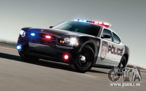 Cool des lumières de police pour GTA San Andreas