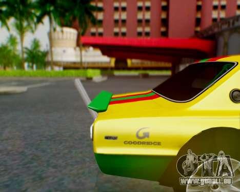 Nissan 2000GT-R [C10] Tunable pour GTA San Andreas moteur