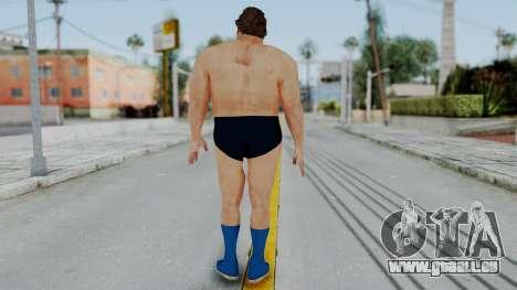Andre Giga pour GTA San Andreas troisième écran