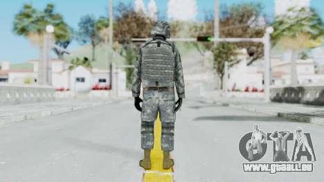 Acu Soldier Balaclava v2 pour GTA San Andreas troisième écran