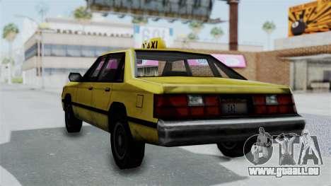 Taxi from GTA Vice City für GTA San Andreas linke Ansicht