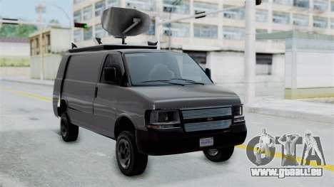 Vapid Speedo Newsvan pour GTA San Andreas
