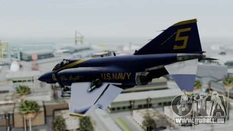 McDonnell Douglas RF-4B Blue Angels pour GTA San Andreas laissé vue