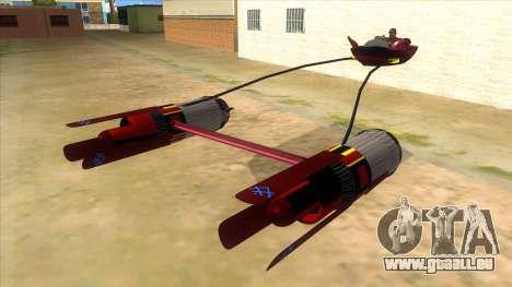 StarWars Anakin Podracer für GTA San Andreas