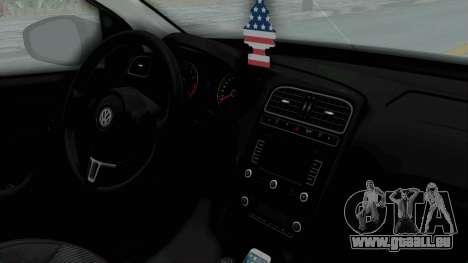 Volkswagen Polo 6R 1.4 HQLM für GTA San Andreas rechten Ansicht