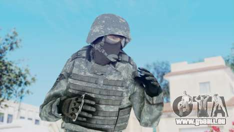 Acu Soldier Balaclava v3 pour GTA San Andreas