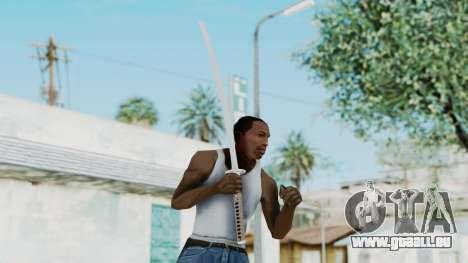 Samurai Sword für GTA San Andreas