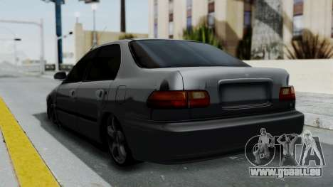 Honda Civic 1992 Sedan für GTA San Andreas linke Ansicht