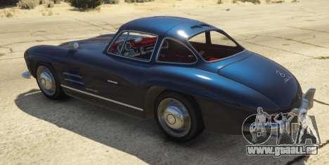 1954 Mercedes-Benz 300 SL Gullwing 1.0 pour GTA 5