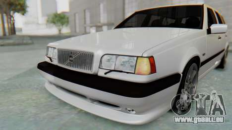 Volvo 850R 1997 Tunable pour GTA San Andreas salon