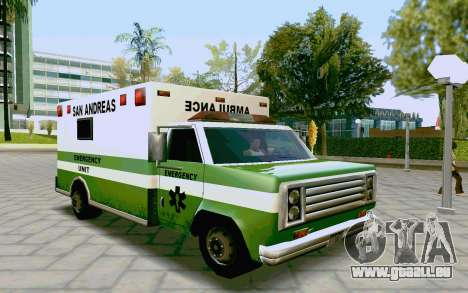 Journey Ambulance pour GTA San Andreas