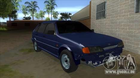 2114 un Peu Bq pour GTA San Andreas vue arrière