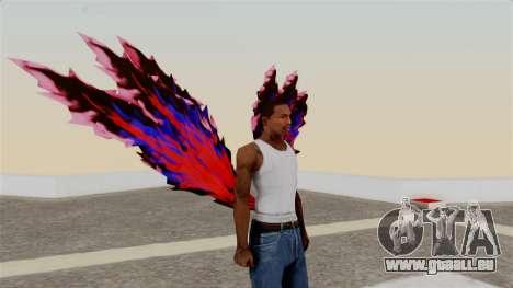 Ayatos Kagune pour GTA San Andreas deuxième écran