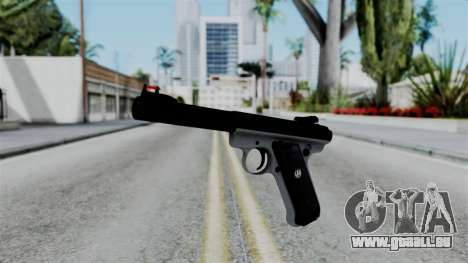 No More Room in Hell - Ruger Mark III für GTA San Andreas