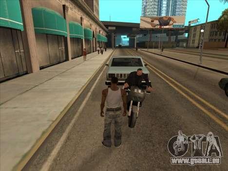 Russen in der Einkaufsstraße für GTA San Andreas her Screenshot