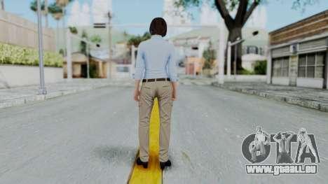 GTA 5 Karen Daniels Civil pour GTA San Andreas troisième écran