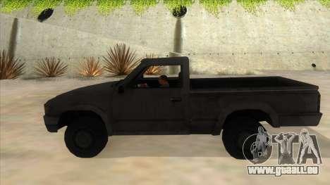 Toyota Hilux Militia pour GTA San Andreas laissé vue